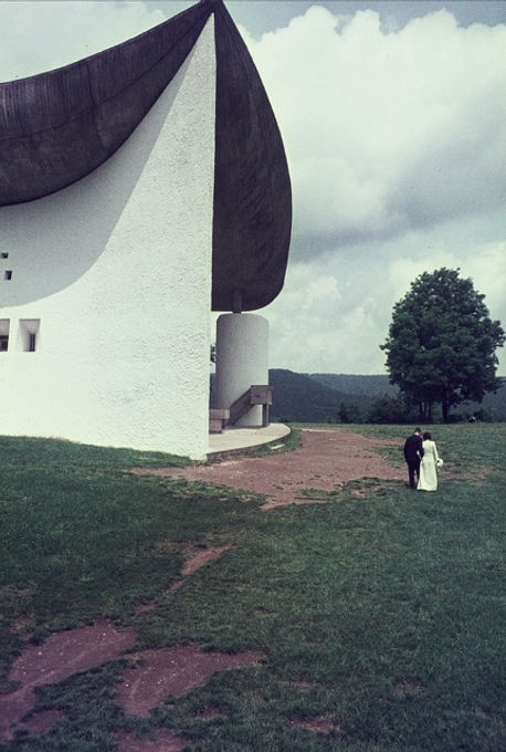 Le Corbusier, Notre Dame du Haut, Ronchamp, 3 juli 1967