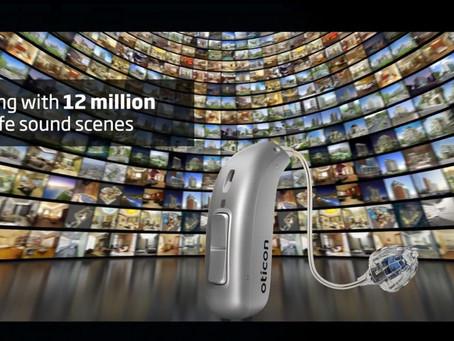 Presentamos Oticon More™ audífono inteligente.