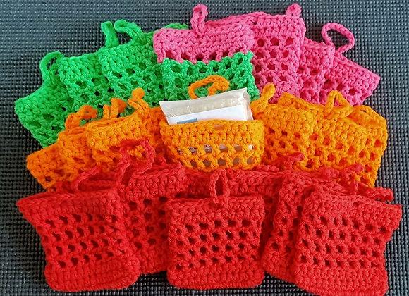 100% Cotton Soap Saver Bag