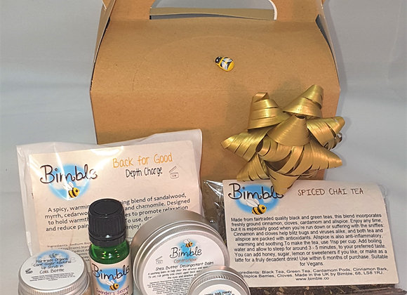 Winter Survival Kit Get Well Gift Box