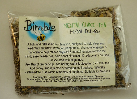 Mental Clari-Tea Herbal Infusion