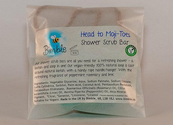 Head to Moji-Toes Shower Scrub Bar 90g