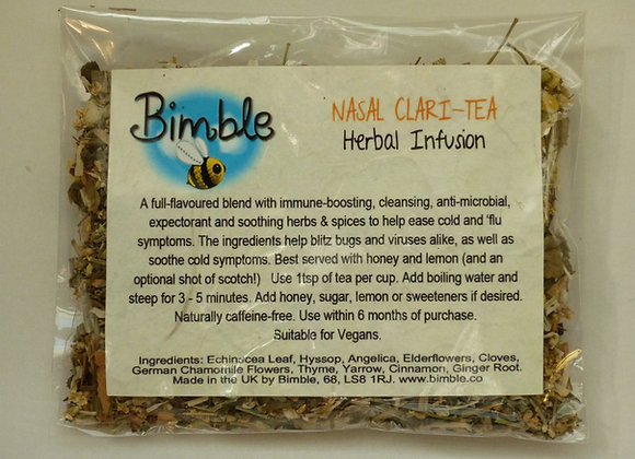 Nasal Clari-Tea Herbal Infusion