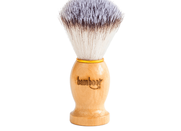 Bamboo Vegan Shaving Brush