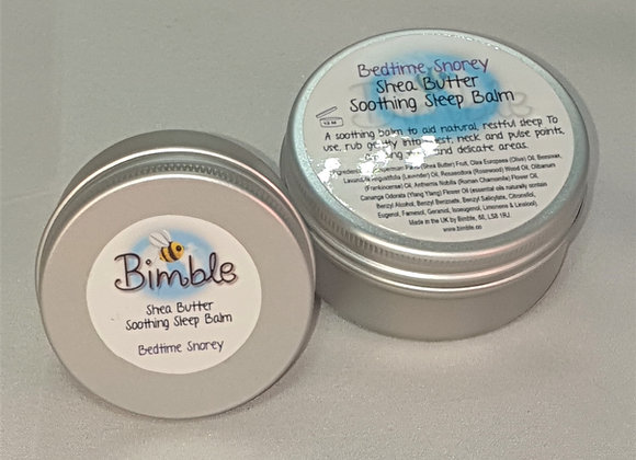 Bedtime Snorey Sleep-Enhancing Shea Butter Temple Balm