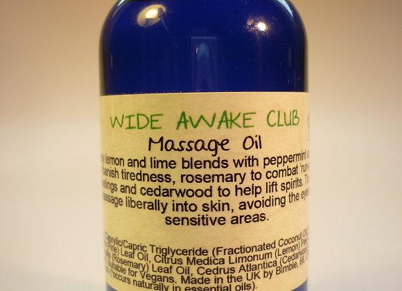 Wide Awake Club Natural Massage Oil