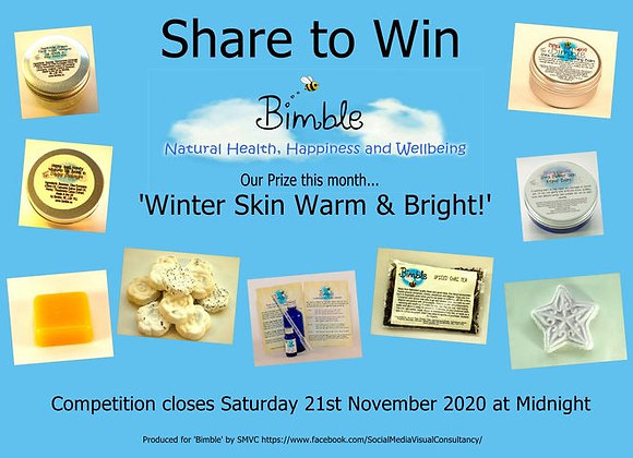 Winter Skin -Warm and Bright! Special Edition Gift Bag