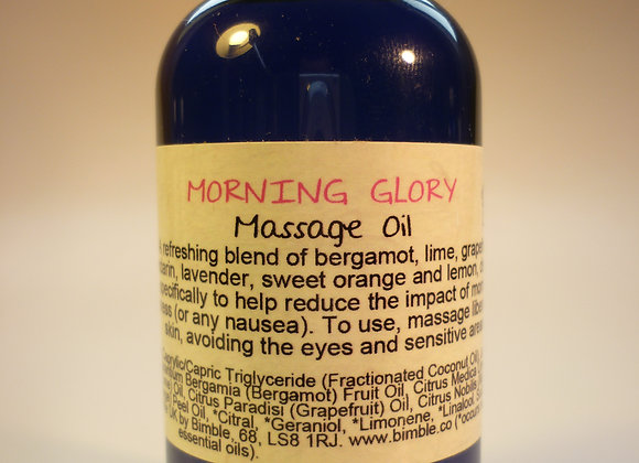 Morning Glory Natural Massage Oil