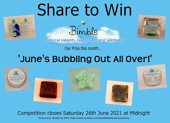 June's Bubbling Out All Over! Special Edition Gift Bag