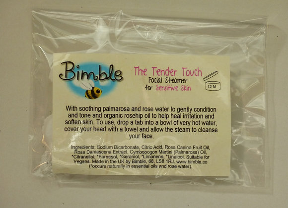 The Tender Touch Facial Steamer Tabs