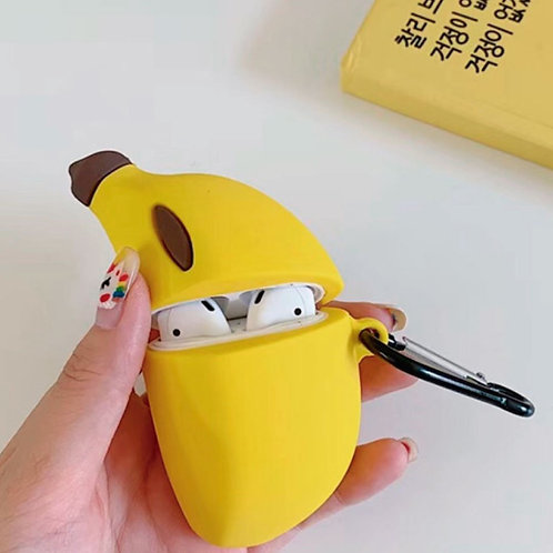 Funky Airpod Case- Banana