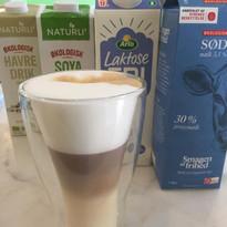 Caffe Latte med laktosefrie mælk