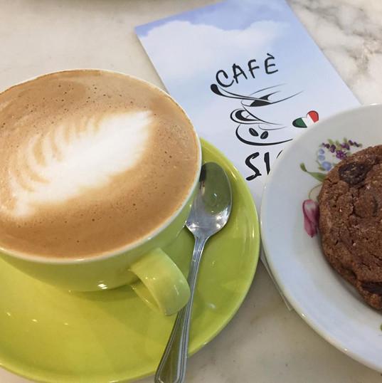Kaffe og cookies