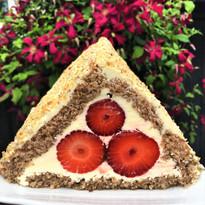 Jordbær trekant