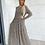 Thumbnail: שמלת מקסי נמר בז׳ שחור