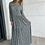 Thumbnail: שמלת מקסי נמר ירוק שחור