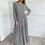 Thumbnail: שמלת מקסי נמר לבן שחור