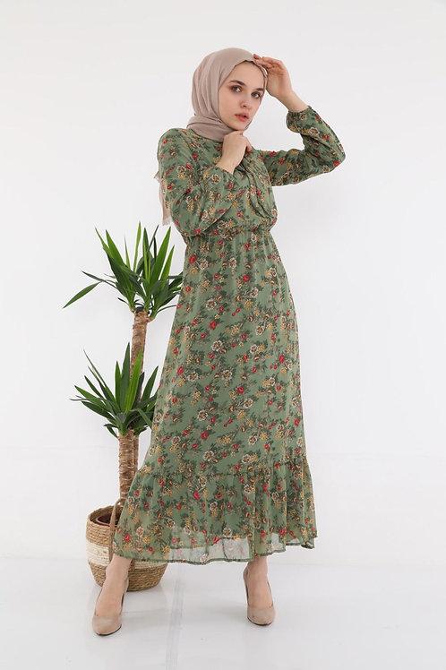 שמלת שיפוני פרחונית