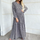 Thumbnail: שמלת מקסי נמר סגול שחור