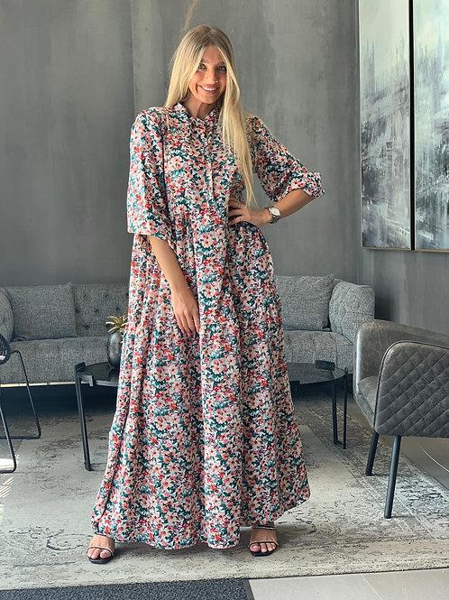 שמלת מקסי פרחים קיץ