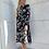 Thumbnail: שמלה פרחונית סאטן