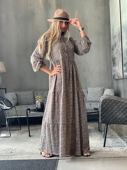 שמלת מקסי טל