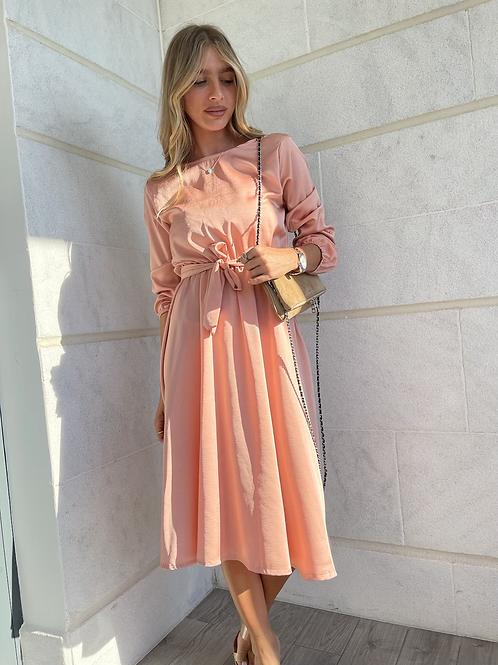 שמלת סאטן ערב