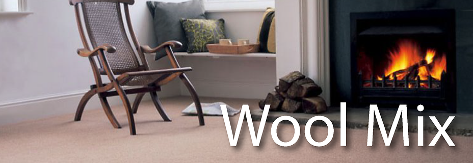 Wool Mix and Part Wool Carpets Kent
