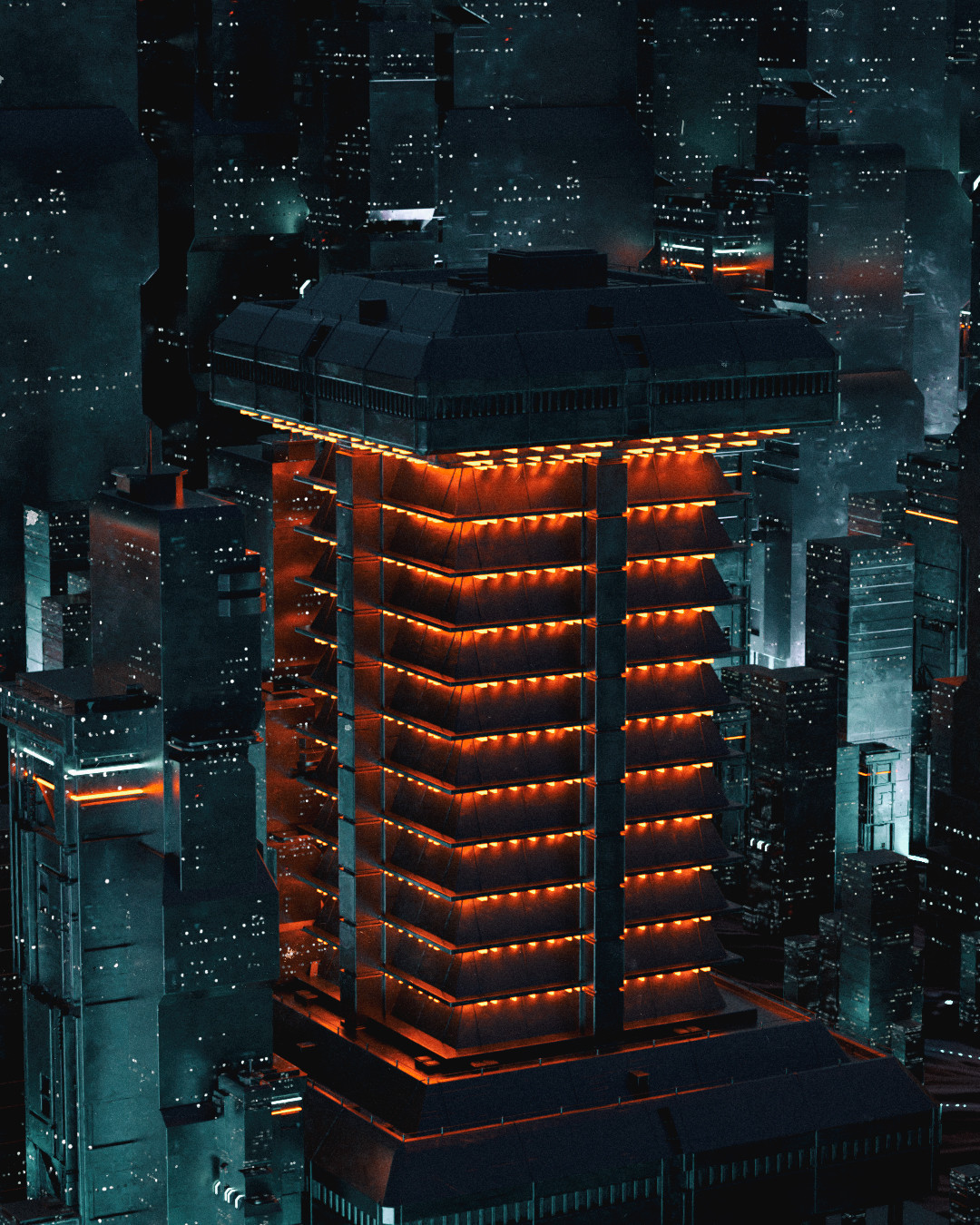 //Not Another Cyberpunk Cityscape