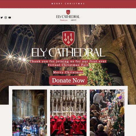 Ely Cathedral Xmas