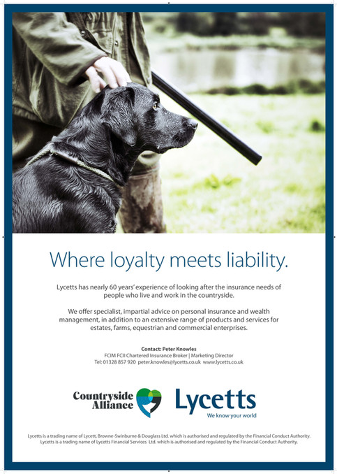 Lycetts | A1 | Countryside Alliance | Pr