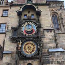 Astronomical Clock in Prague Czech Repub
