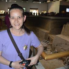 Erin at Terra Cotta Warriors