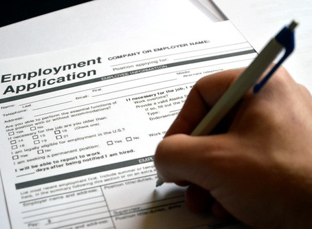 Applying for a job - what's important?