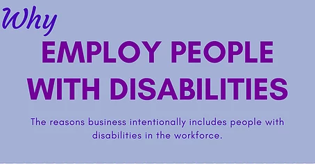 To Improve Management Efficiency, Hire People with Disabilities