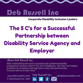 DRI 5 C's Successful Partnerships logo.j