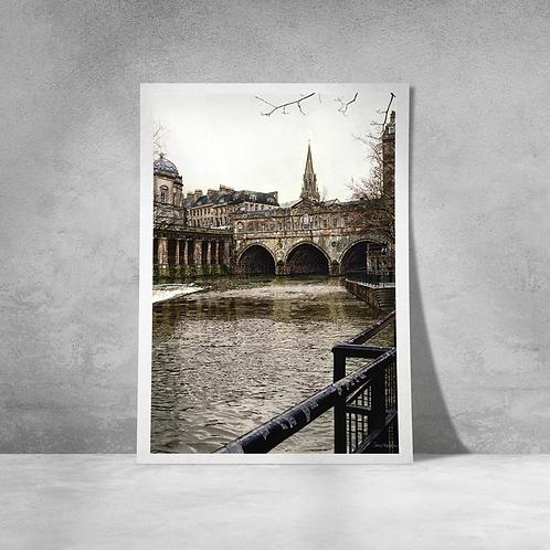 Pulteney Bridge with St Michaels