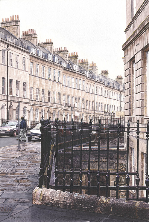 Corner Of Henrietta Street