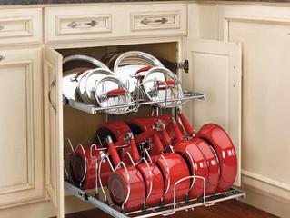 Лучшие идеи хранения на кухне.