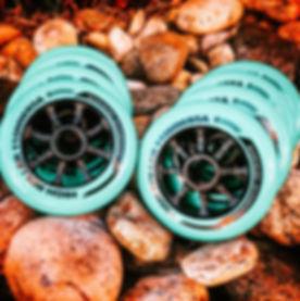 bont highroller inline skate wheel