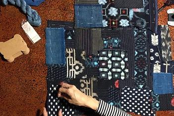 Boro Inspired Sashiko Patchwork Workshop