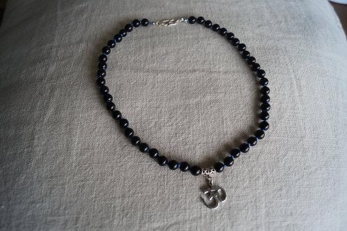 Collier en Onyx noire