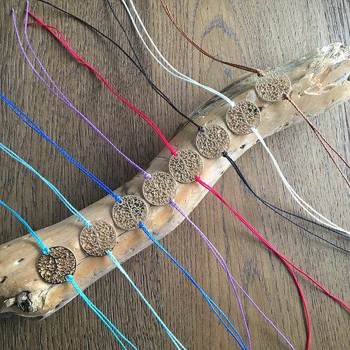 Bracelet cordon Arbre de vie