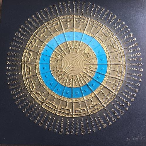 Circle of Life bleu