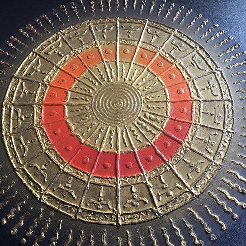 Circle of Life orange