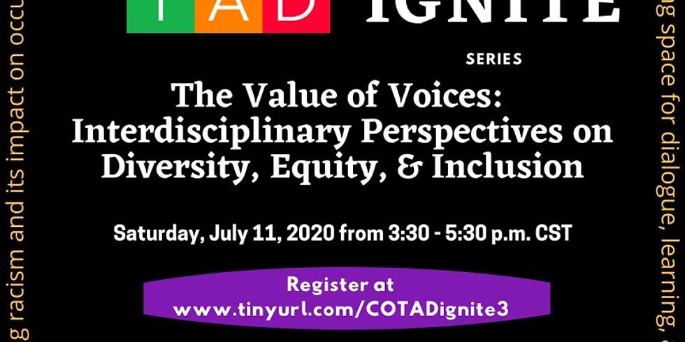 Value of Voices: Interdisciplinary Perspectives on DEI