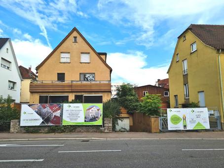 Nicht mehr zu übersehen: das West Stadt Quartier mitten in Ludwigsburg