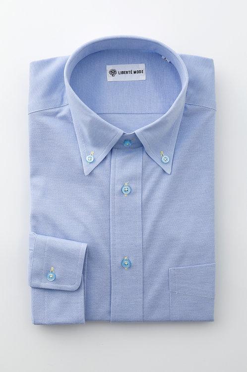Men's鹿の子ストレッチシャツ