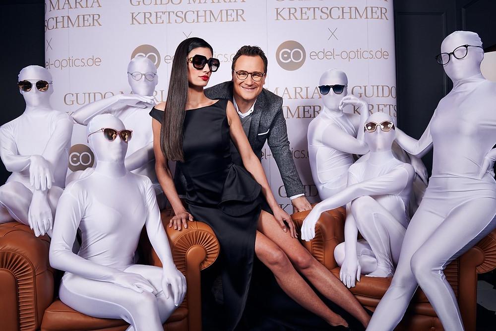 Guido Maria Kretschmer stellt im Hamburger Ding seine neue Kollektion mit Edel Optics vor