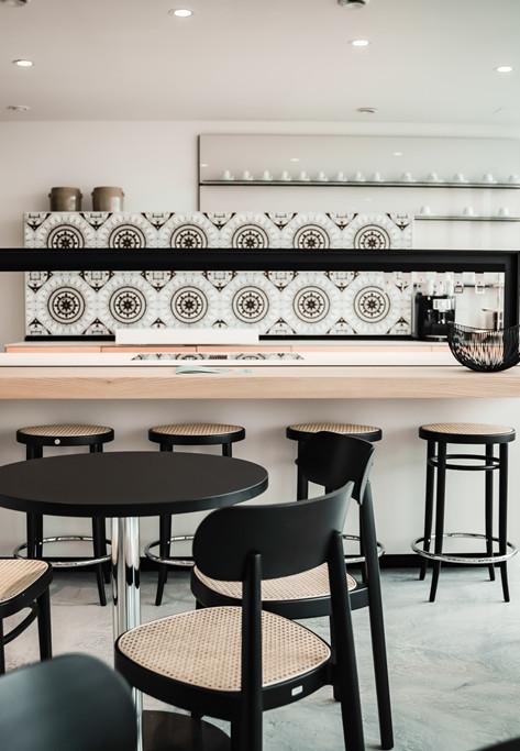 Küche im Thonet Cafe